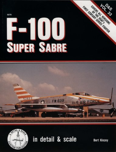 9780830680443: F-100 Super Sabre in detail & scale - D&S Vo. 33