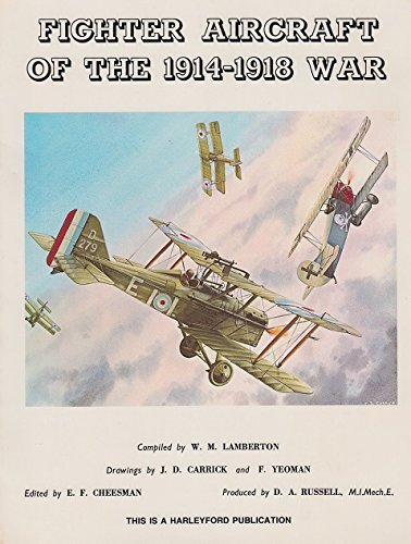9780830683505: Fighter Aircraft of the 1914-1918 War