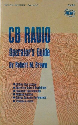 9780830684991: CB Radio Operator's Guide