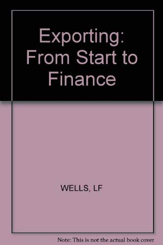 9780830690404: Exporting: From Start to Finance