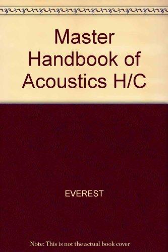 9780830690961: Master Handbook of Acoustics H/C