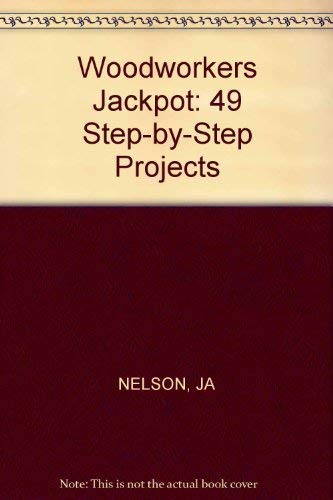 9780830691548: Woodworker's jackpot: 49 step-by-step projects