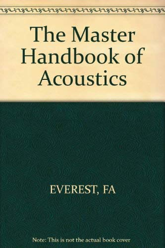 Master Handbook Of Acoustics Abebooks border=