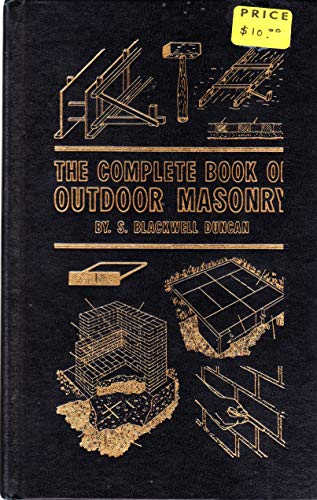9780830699049: The complete book of outdoor masonry