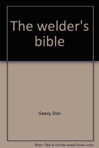 9780830699384: Title: The welders bible