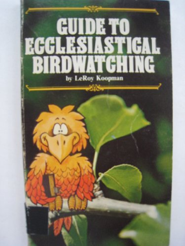 9780830702411: Guide To Ecclesiastical Birdwatching