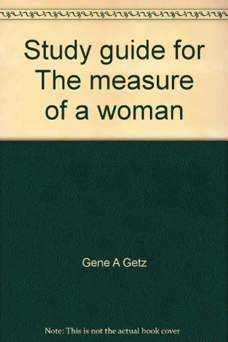 9780830705641: Study guide for The measure of a woman