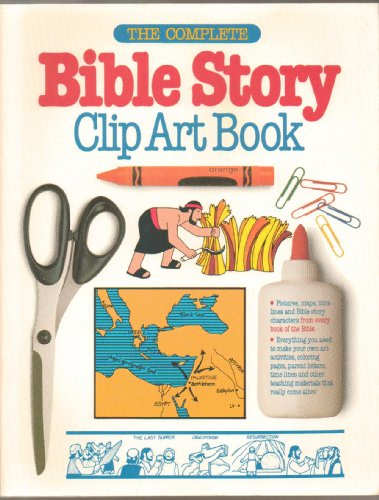 9780830713851: The Complete Bible Story Clip Art Book