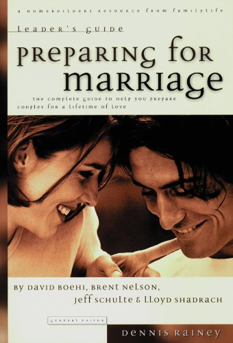 9780830717606: Preparing for Marriage Leader's Guide