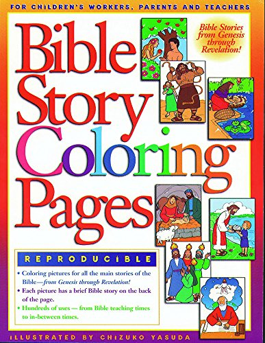 9780830718696: Bible Story Coloring Pages 1 (Coloring Books ...