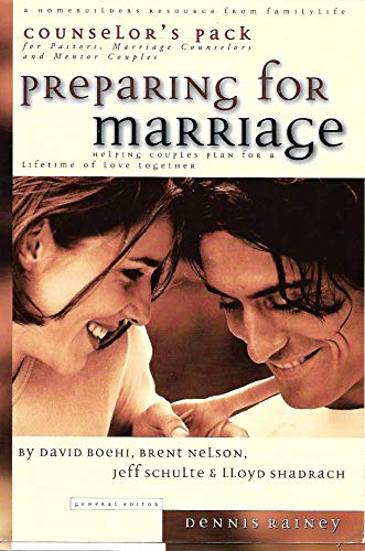 Preparing for Marriage-Counselors Pack (0830721568) by Dennis Rainey