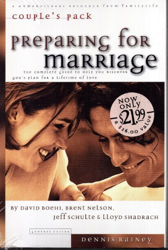 9780830721573: Preparing for Marriage: Couple's Pack