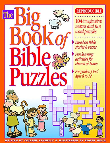 9780830725427: The Big Book of Bible Puzzles (Big Books)