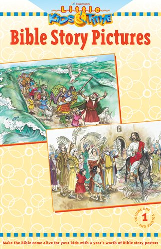 9780830727735: Bible Story Pictures [With 52 Posters] (Little Kids Time)