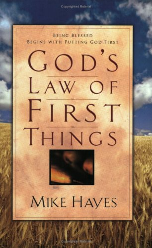 9780830727759: God's Law Of First Things