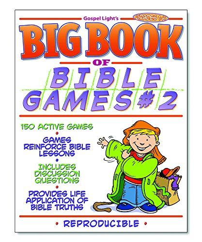 9780830730537: Big Book of Bible Games #2: Reproducible book, games for ages 6–12; help kids talk about Bible facts, learn Bible verses, get active and have fun together! (Big Books) (No. 2)