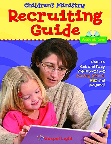 9780830731121: Recruiting Guide and CDROM: How to Get and Keep Volunteers for Sunday School, VBS, and Beyond!
