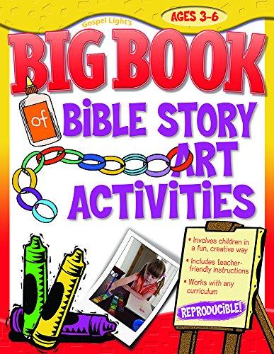 9780830733088: Big Book of Bible Story Art Activities (Big Books)
