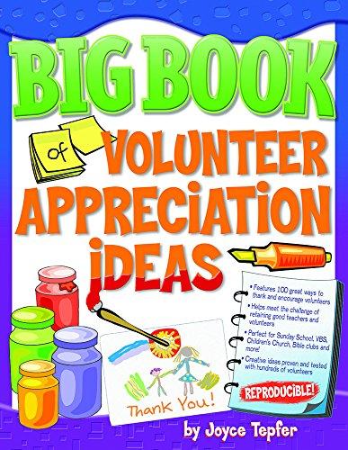 9780830733095: Big Book of Volunteer Appreciation Ideas (Big Books (Gospel Light))