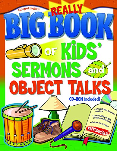9780830736577: Really Big Book of Kids' Sermons and Object Talks (Big Books)