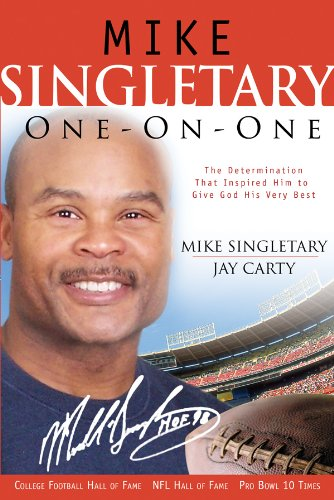 9780830737024: Mike Singletary One-on-One: The Determination That Inspired Him to Give God His Very Best