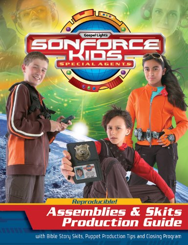 9780830738526: Assemblies & Skits Production Guide: With Bible Story Skits, Puppet Production Tips and Closing Program (Gospel Light's Sonforce Kids Special Agents)