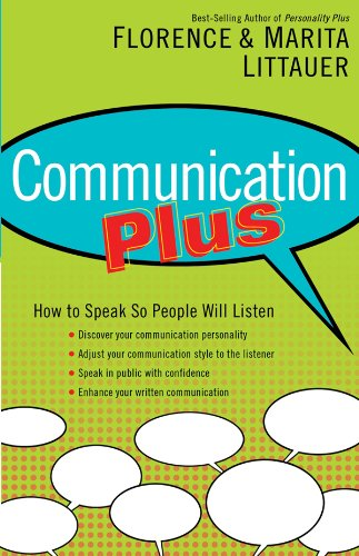 9780830739318: Communication Plus: How to Speak So People Will Listen