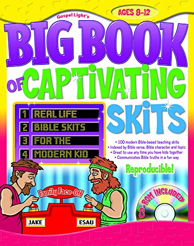 9780830743599: The Big Book of Captivating Skits: More Than 100 Skits for Ages 8 to12 with CDROM