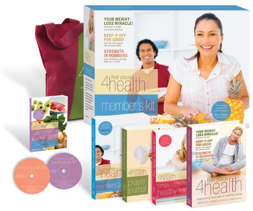 9780830745890: Member's Kit (First Place 4 Health)