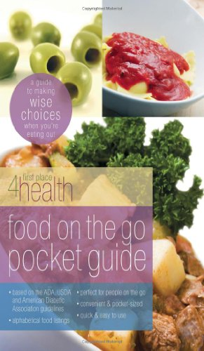 9780830745913: Food on the Go Pocket Guide: A Guide To Making Wise Choices When You're Eating Out (First Place 4 Health)