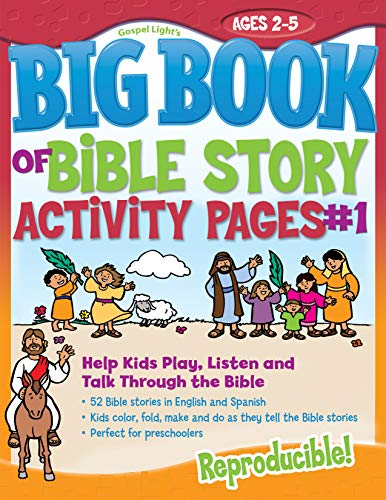 9780830751020: The Big Book of Bible Story Activity Pages #1 (with CD-ROM) (Big Books)
