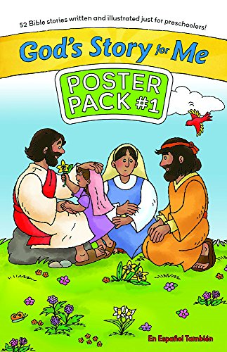 God's Story for Me Poster Pack #1: 52 Bible Stories Written and Illustrated Just for ...