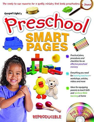 9780830751563: Preschool Smart Pages: Reproducible book contains all you need to equip, inspire and train volunteers, leaders and parents of preschoolers to lead little ones to Jesus!