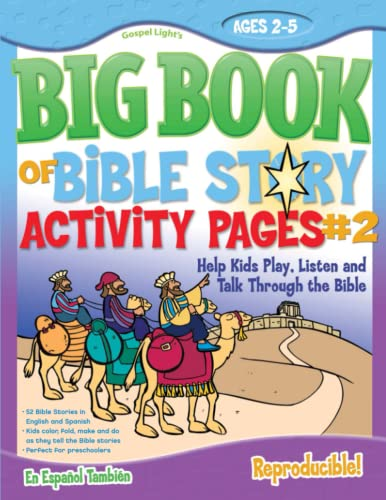 9780830752263: The Big Book of Bible Story Activity Pages #2 (with CD-ROM) (Big Books)