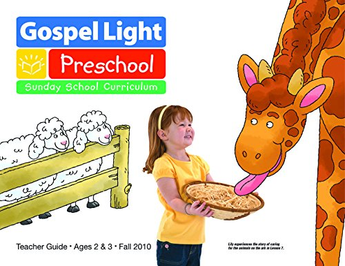 9780830753307: Preschool (Gospel Light: Sunday School Curriculum: Teacher Guide, Ages 2 and 3)