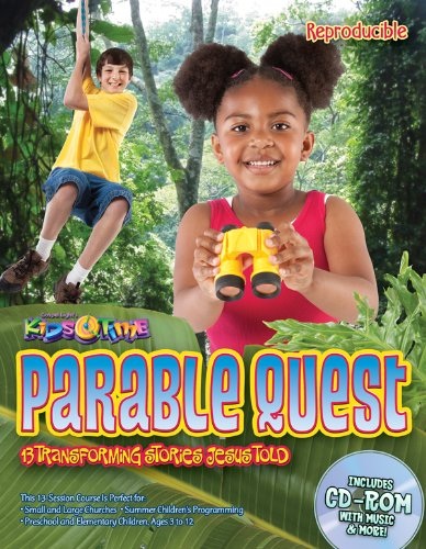 9780830753376: Parable Quest: 13 Bible lessons, reproducible, multi-ages, focus on applying Jesus' parables to kids' lives! Go to the Rainforest! (13 Week Bible Curriculum)