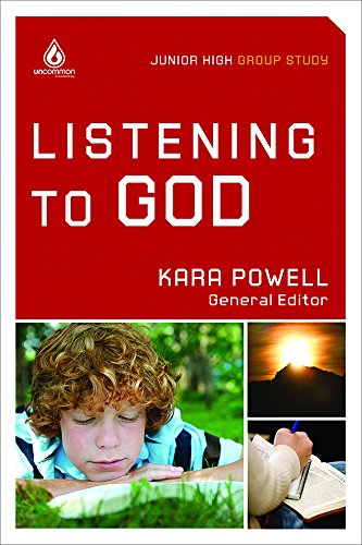 9780830761364: Listening to God (Junior High Group Study) (Uncommon)