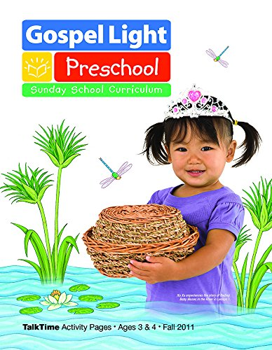 9780830761418: Preschool TalkTime Activity Pages Ages 3 & 4 Fall 2011 (Gospel Light)