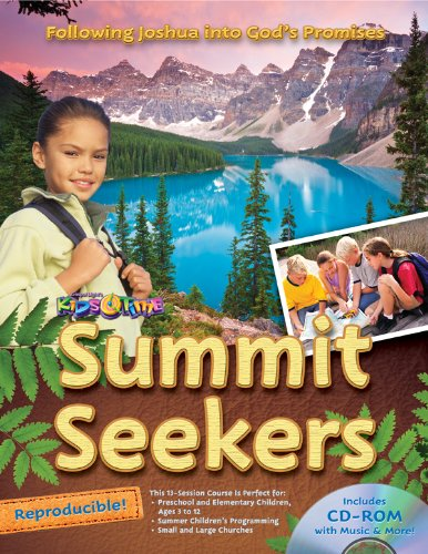 9780830762286: Summit Seekers: 13 sessions, ages 3-12; National Park theme, God's love and promises, Bible content from the life of Joshua (13 Week Bible Curriculum)