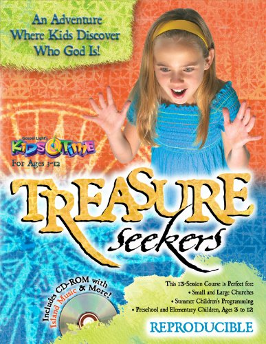 9780830762552: Treasure Seekers: 13 Bible lessons for ages 3-12 about the character of God; tropical island theme with island snacks, activities, fully reproducible (13 Week Bible Curriculum)