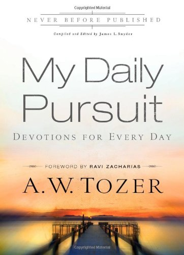 9780830769049: My Daily Pursuit: Devotions for Every Day