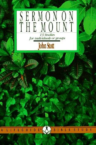 9780830810369: The Sermon on the Mount (Lifeguide Bible Studies)
