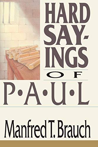 9780830812820: Hard Sayings of Paul (Hard Sayings Series the Hard Sayings)