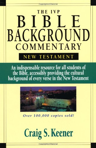 9780830814053: The IVP Bible Background Commentary: New Testament