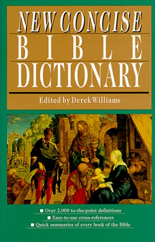 9780830814459: New Concise Bible Dictionary