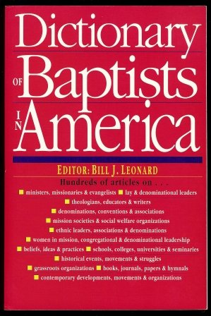 9780830814473: Dictionary of Baptists in America