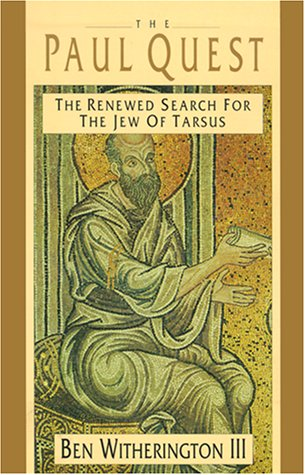 9780830815036: The Paul Quest: The Renewed Search for the Jew of Tarsus