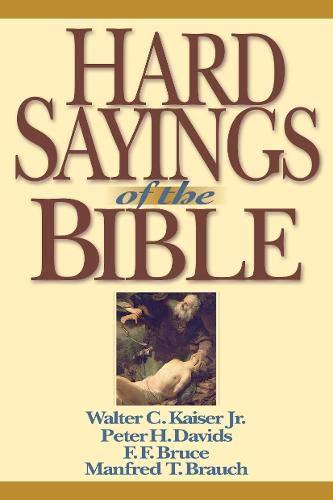 9780830815401: Hard Sayings of the Bible