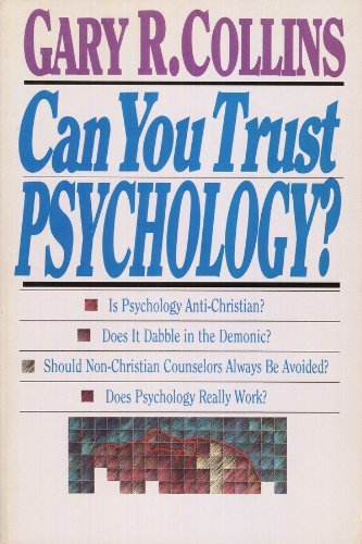 9780830817108: Can You Trust Psychology: Exposing the Facts and the Fictions