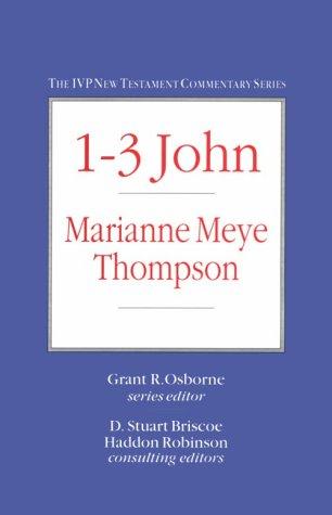 9780830818198: 1-3 John (IVP New Testament Commentary Series)